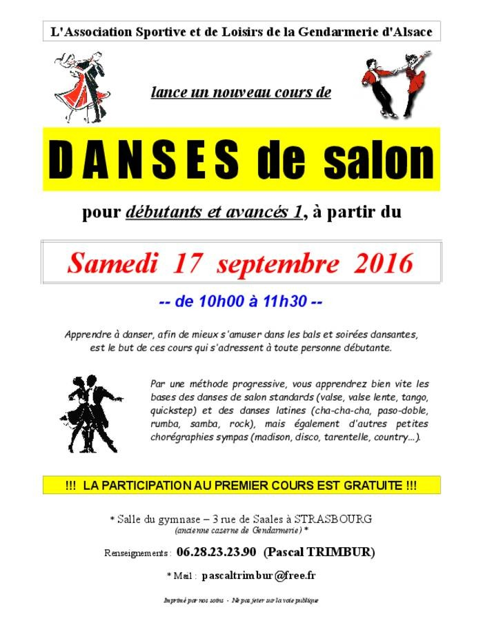 Cours de danse de salon koikanou for Danse de salon nord
