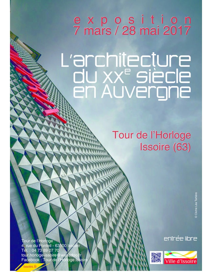 Exposition l 39 architecture du xxe si cle en auvergne for Architecture 20eme siecle