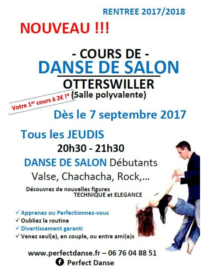 Cours de danse de salon otterswiller rentr e 2017 koikanou for Cours de danse de salon 92