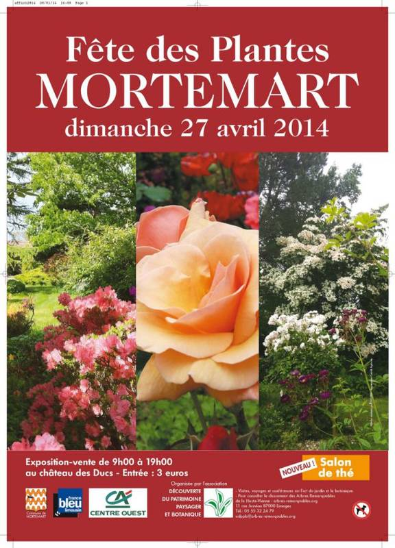 Mortemart Plant Fair Poster