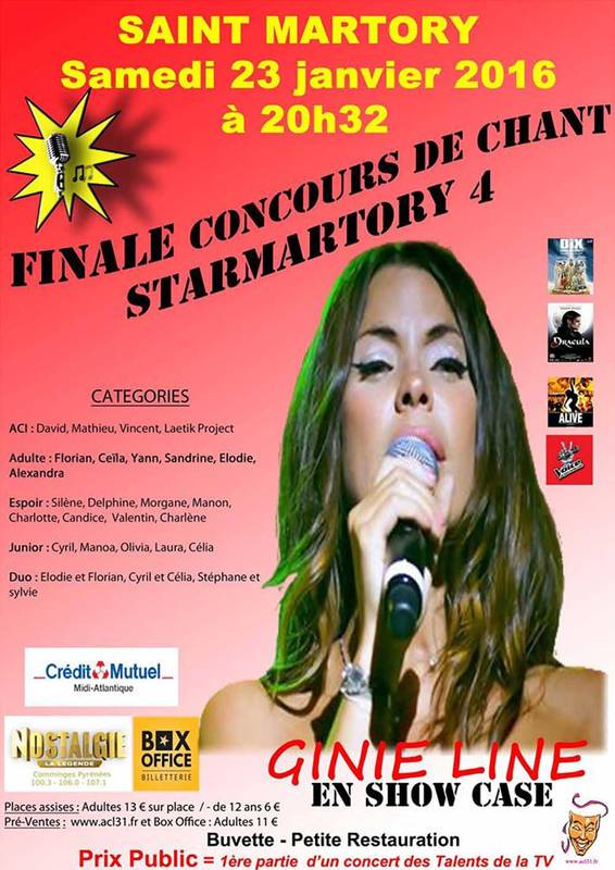 Concours rencontre star 2016
