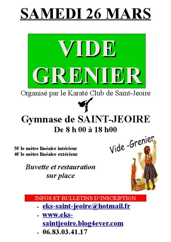 vide grenier 26 mars 2016 saint jeoire 74490. Black Bedroom Furniture Sets. Home Design Ideas