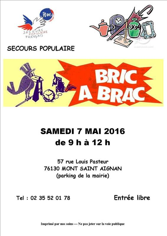 bric brac 07 mai 2016 mont saint aignan 76130. Black Bedroom Furniture Sets. Home Design Ideas